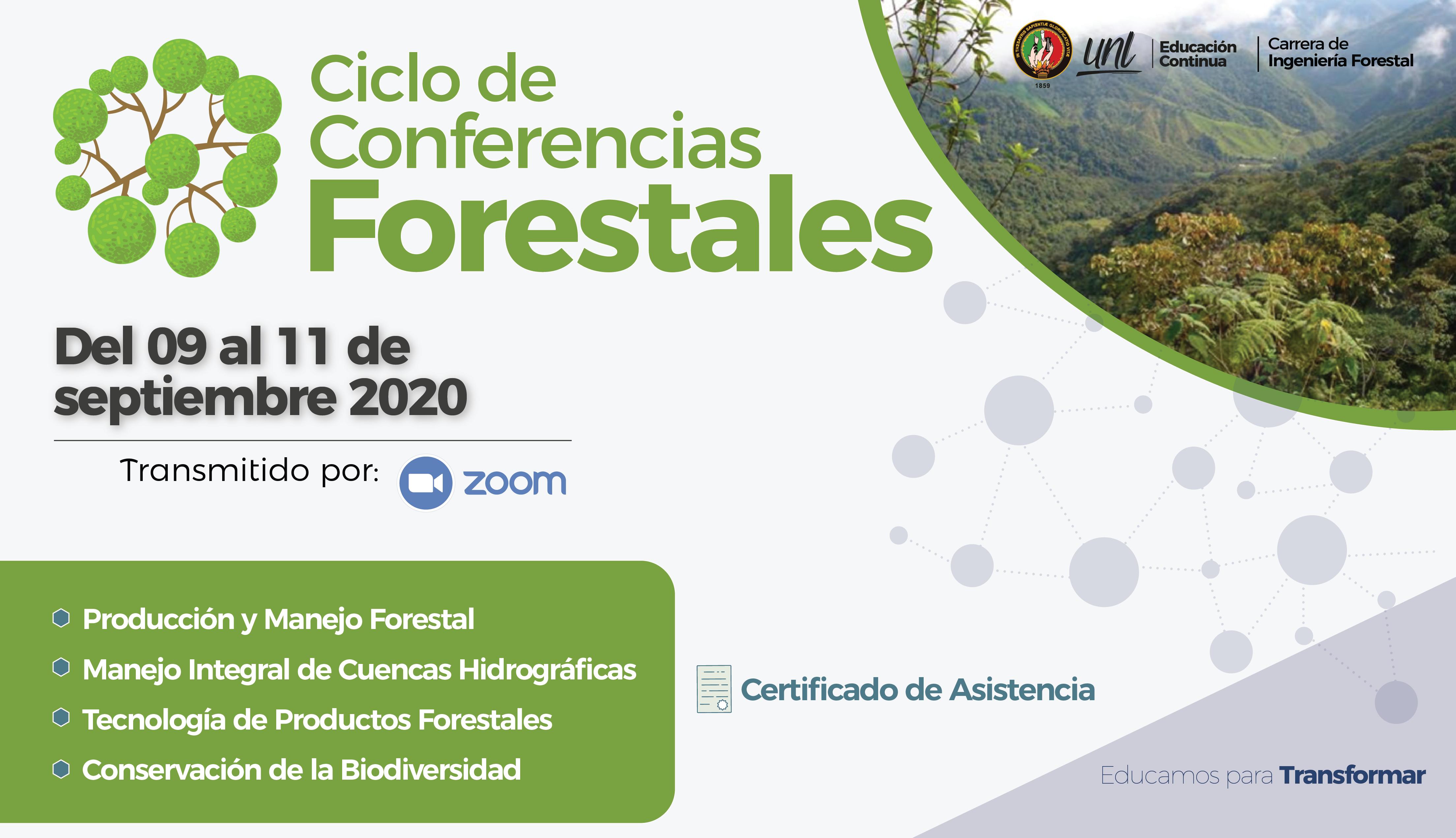 Ciclo de Conferencias Forestales